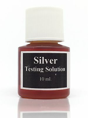 Silver Acid Testing Solution to Test for the Purity of 925 sterling / 800 10ml