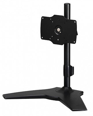 "Amer Networks AMR1S32 32"" Freestanding Black flat panel desk mount"