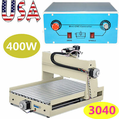 3 axis 3040 400W CNC Router Engraver Engraving Milling Woodworking Machine