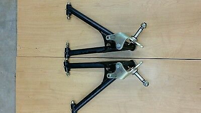 A Arm Left and Right Can-am 04 Rally 200 2x4 ATV  with spindles, bolts and nuts