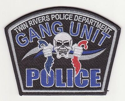 Twin Rivers, California Police {RARE} Gang Unit!!!