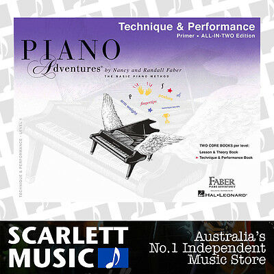 Piano Adventures - ALL IN TWO Technique & Performance Book Primer Faber
