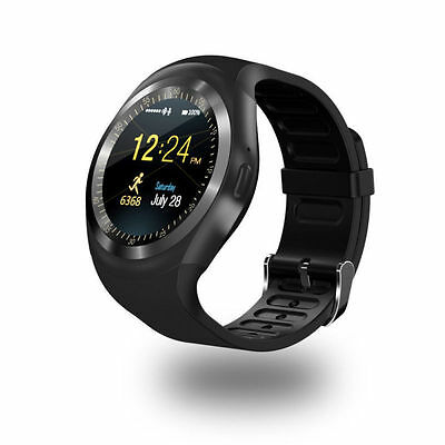 Waterproof Y1 Bluetooth Smart Watch Phone for IOS Android iPhone Smsung HTC x