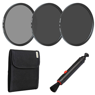 Zomei 82mm Camera Lens Neutral Density Filter Set Include ND2 ND4 ND8 + Lens Pen