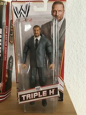 WWE Elite 2012 Exclusive Triple H Coo Manager OVP