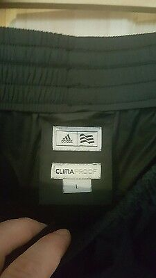 NEW ADIDAS Mens waterproof Bottoms  Climaproof trousers size L
