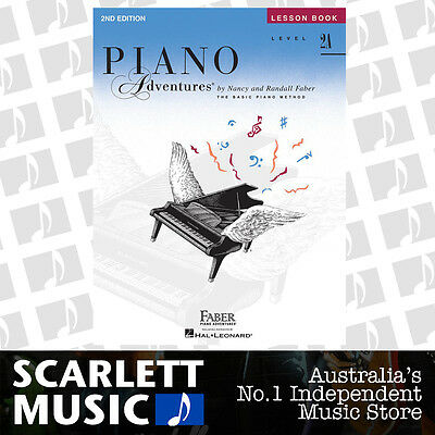 Piano Adventures 2nd Edition - Lesson Book Level 2A ( 2-A ) Faber *BRAND NEW*