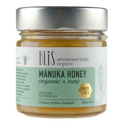 BLIS Manuka Honey (Organic Raw) ~ MGO 100+