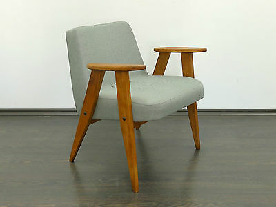 1  of 2 Vintage Renewed Retro MidCentury Danish Style Armchair