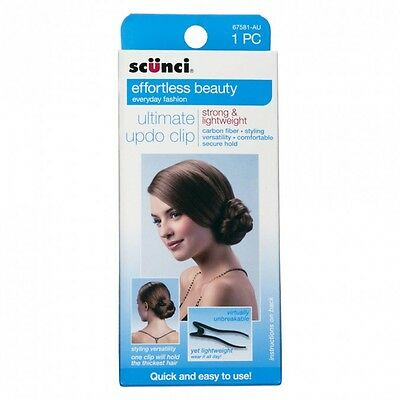 Scunci Effortless Beauty - ULTIMATE HAIR CLIP - wedding, party or work upstyles