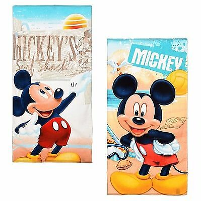Official Disney Mickey Mouse Beach Bath Pool Towel 100% Cotton New 2017