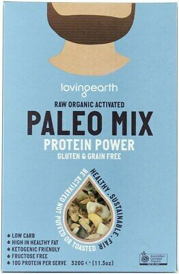 NEW Loving Earth Paleo Protein Power Mix (Organic) ~ 320g