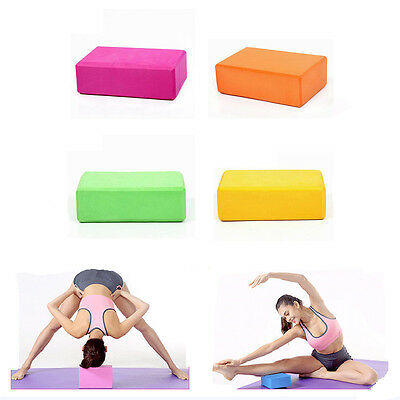 2*Yoga Block Blöcke Brick Ziegel Stretching Pilates Klotz Startseite Fitness
