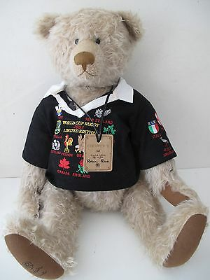 "ROBIN RIVE ""SID"" 2003 5th RUGBY UNION WORLD CUP LTD EDITION 46 OF 50 ALL BLACKS"