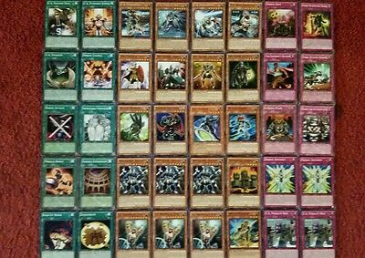 Yu-Gi-Oh U.A and Heroic Deck - 40 cards complete BONUS 5 cards