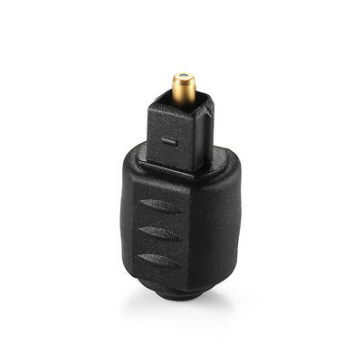 3.5mm Spdif Female To Male Mini Jack Plug To Toslink Optical Audio Adapter