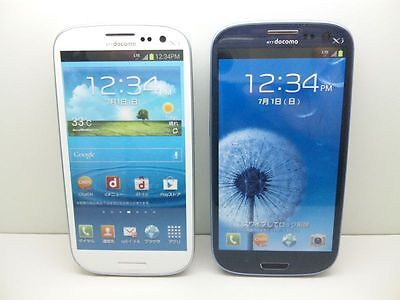 NTT docomo SC-06D GALAXY S3 Non-working Display Phone 2 color set