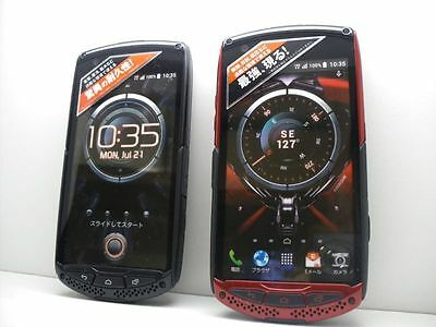 au-by-KDDI KYY24 TORQUE G01 Non-working Display Phone 2 color set