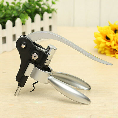 Professional Lever Arm Steel Rabbit Corkscrew Beer Wine Bottle Opener Tool Gift