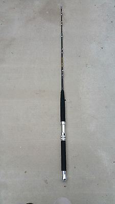80-100lbs SALTWATER CUSTOM FISHING RODS w/ Roller Guides For Penn & Shimano