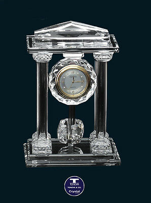 """[SPECIAL OFFER] """"Super Temple"""" Austrian Crystal Clock was AU$207.00"""