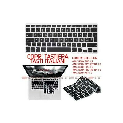 Cover Silicone Ultra Sottile Copri Tastiera Apple Macbook Pro 13 15 17 Mac Air 1