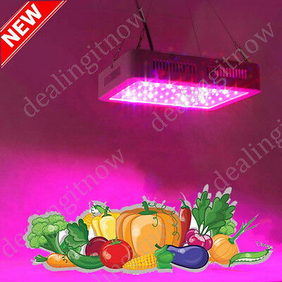 1000W 1200W Hydroponic Plant Growing Full Spectrum LED Grow Light Panel Lamp NEW