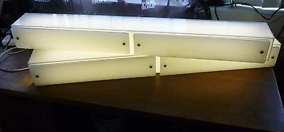 2.5m light box display fluorescent for artistic home lighting or shop display