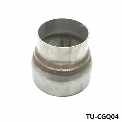 """Stainless Steel Piping Exhaust Reducer 3"""" to 4"""" Fits Mazda Dodge Acura BMW"""