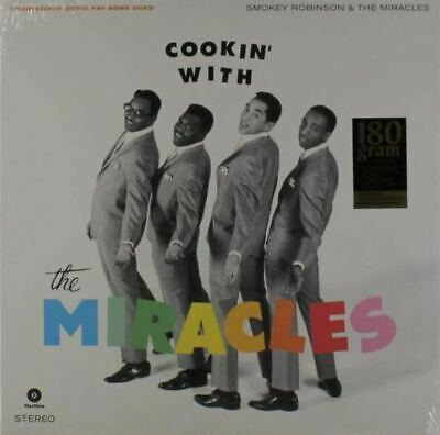 The Miracles - Cookin' With The Miracles (LP, 180g Vinyl, Ltd.) - Vinyl Soul