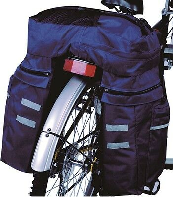 Bicycle Rear Waterproof Bag Rack Pannier for Cycling Seat Large 45L NEW