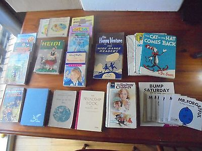 VINTAGE CHILDREN BOOKS MOSTLY 1960s-1970s AND A COUPLE OF REAL OLDIES.