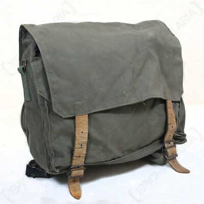 Original Serbian Army Pack - Surplus Bag Carrier Rucksack Backpack Soldier Grey
