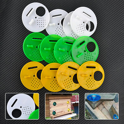 12 pcs/pack Beekeepers Bee hive Nuc box Entrance gates Beekeeping Equipment New