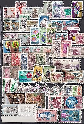 Togo Lot / Collection Of 64 Stamps