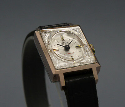 RARE New Old Stock 60s tiny POTENS goldfilled cokctail vintage MECHANICAL watch