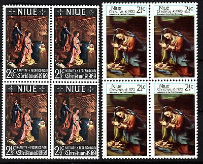 Niue Christmas 1969 1970 fine mint NMH (lot 69)