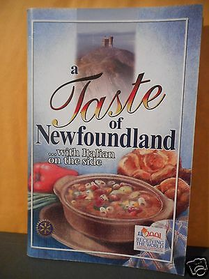 A Taste Of Newfoundland With Italian On The Side,cookbook