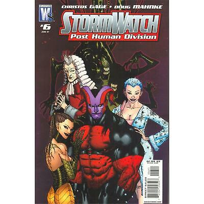 Stormwatch Post Human Division 06