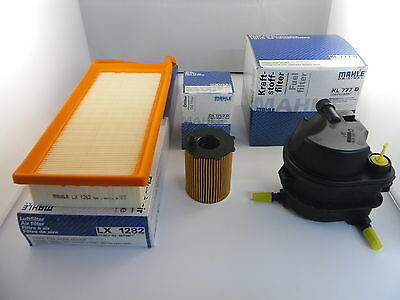 ford fusion 1 4 tdci diesel service kit oil air fuel filter 2002-2011 *oe
