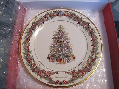 Lenox China DENMARK 2009 Xmas Trees Around the World - 19th Plate in Series VG