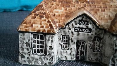 **RARE** No.15 School Countryside Collection Britain in Miniature by TEY POTTERY