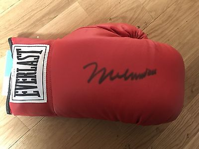 Muhammad Ali Signed Boxing Glove The Greatest Legend RARE COA Online Authentic's