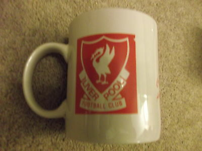 1991 Liverpool v Arsenal Caltex Cup ceramic mug for match played in Singapore
