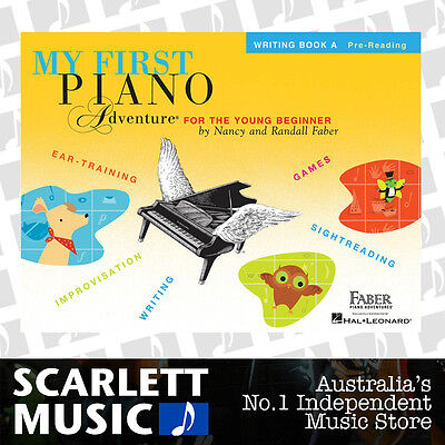 My First Piano Adventure For The Young Beginner - Writing Book A *BRAND NEW*