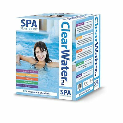 Bestway Clearwater Spa Treatment Water Maintenance Chemical Starter Kit