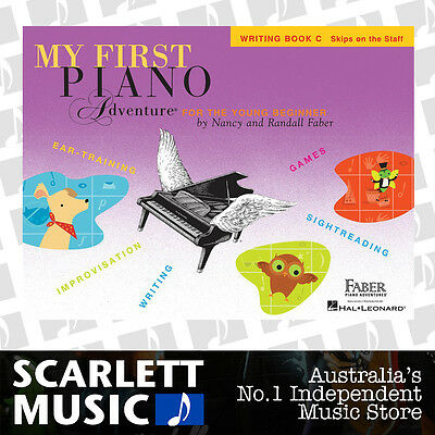 My First Piano Adventure For The Young Beginner - Writing Book C *BRAND NEW*