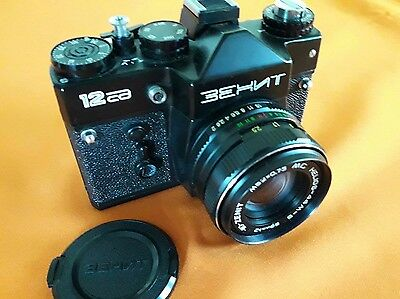 MACCHINA FOTOGRAFICA ZENIT 12 CD BEHNT made in ussr