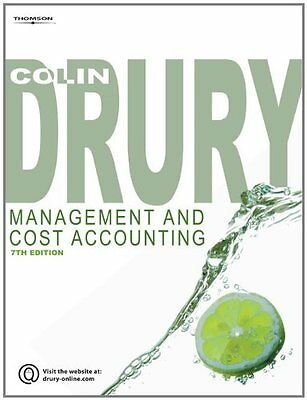 Management and Cost Accounting By Colin Drury. 9781844805662