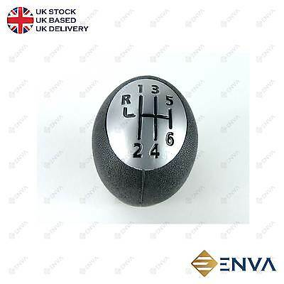 Brand New 6 Speed Gear Knob Shift Stick For VAUXHALL OPEL VIVARO